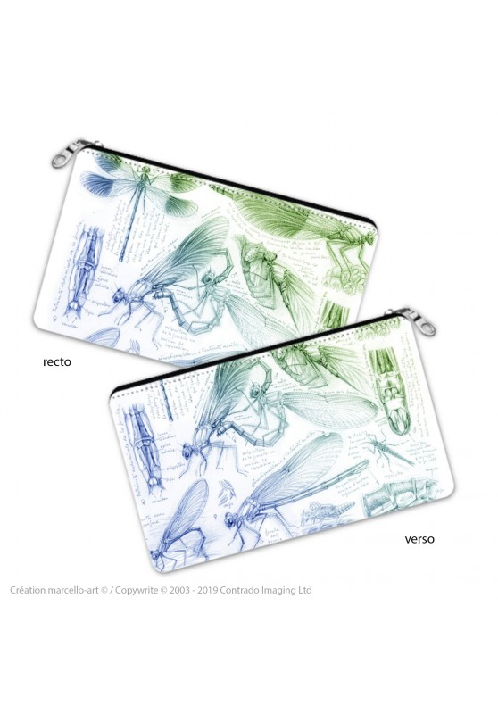 Marcello-art: Decoration accessoiries Pencil case 255 calopteryx