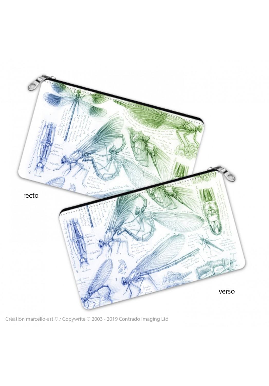 Marcello-art: Decoration accessoiries Pencil case 255 calopteryx