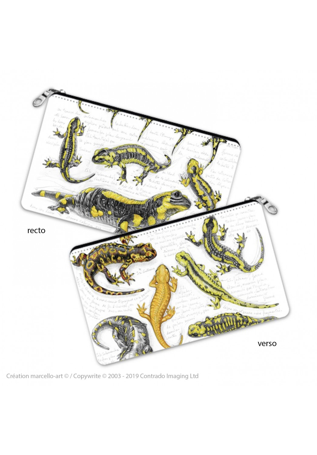 Marcello-art: Decoration accessoiries Pencil case 383 salamander