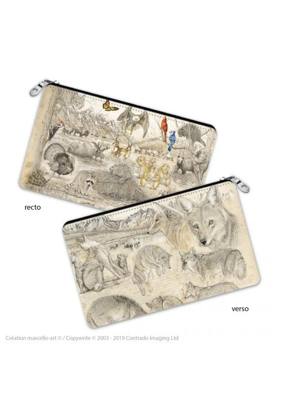 Marcello-art : Accessoires de décoration Trousse à crayons 391 coyote