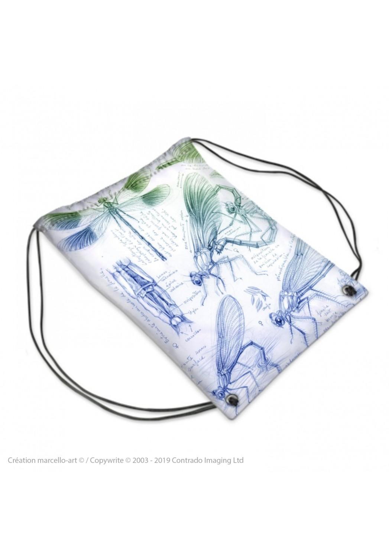 Marcello-art: Fashion accessory Sports bag 255 calopteryx