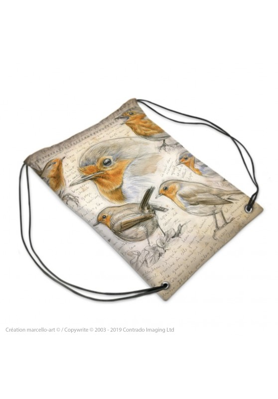 Marcello-art: Fashion accessory Sports bag 281 robin 282 redstart
