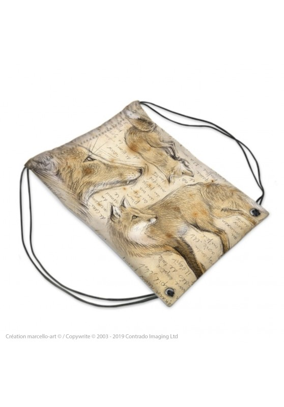 Marcello-art: Fashion accessory Sports bag 336 red fox