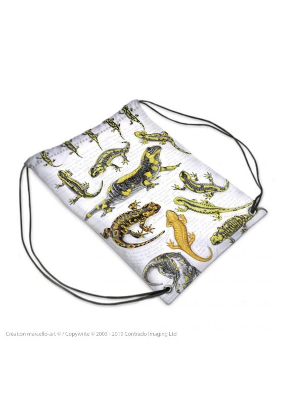 Marcello-art : Accessoires de mode Sac de sport 383 salamandre