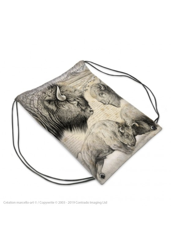 Marcello-art: Fashion accessory Sports bag 390 American buffalo