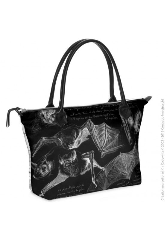 Marcello-art: Fashion accessory Zipped bag 31 pipistrelle