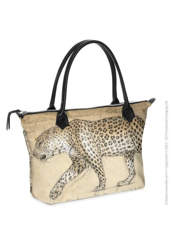 Marcello-art: Fashion accessory Zipped bag 180 leopard
