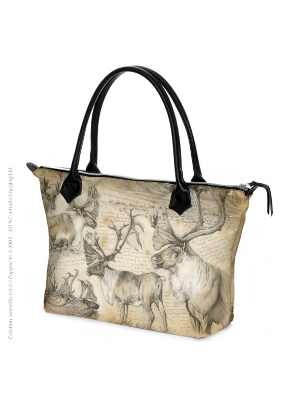 Marcello-art: Fashion accessory Zipped bag 190 caribou