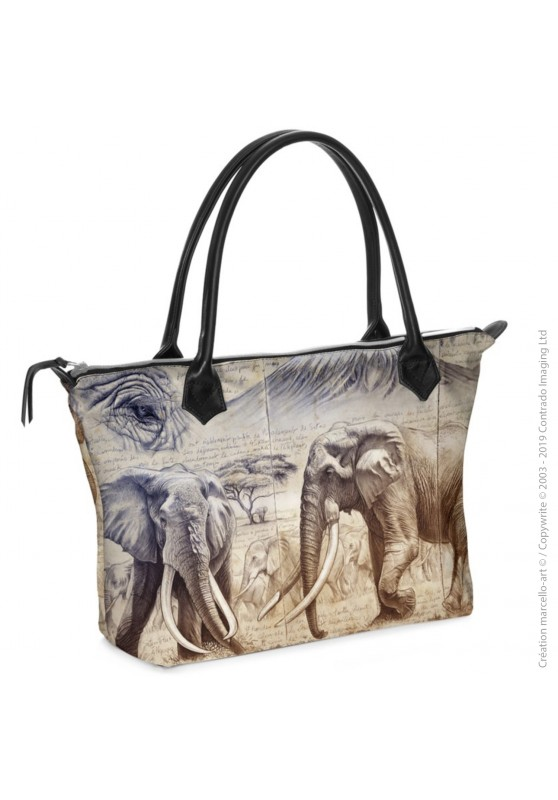 Marcello-art: Fashion accessory Zipped bag 303 Satao