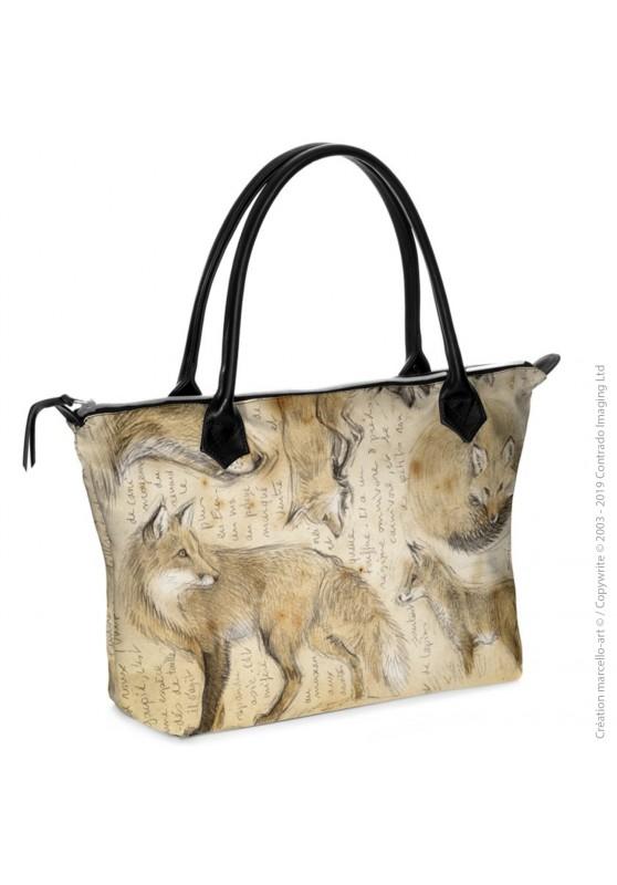 Marcello-art : Accessoires de mode Sac zippé 336 renard roux