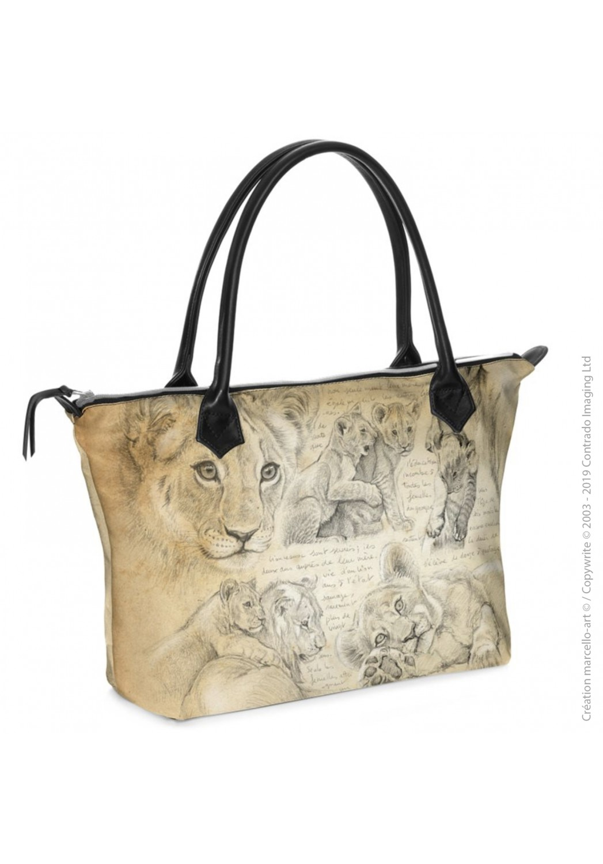 Marcello-art : Accessoires de mode Sac zippé 331 lionceaux 335 lionceaux