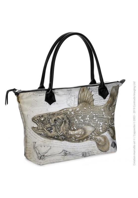 Marcello-art : Accessoires de mode Sac zippé 346 Latimeria chalumnae