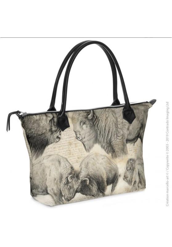 Marcello-art : Accessoires de mode Sac zippé 390 bison
