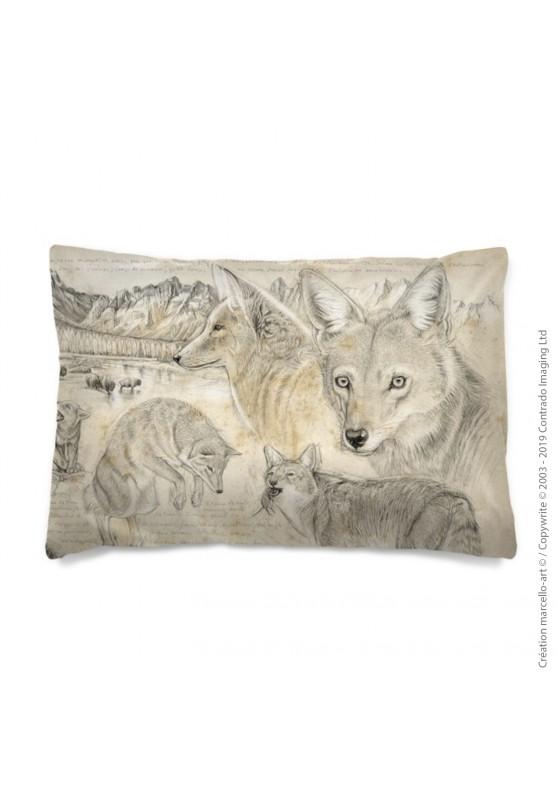 Marcello-art: Fashion accessory Pillowcase 391 A coyote