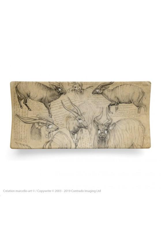 Marcello-art: Rectangular plates Rectangular plate 207 Bongo