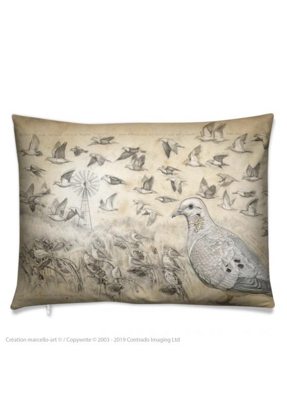 Marcello-art: Fashion accessory Cushion 231 Eared Dove