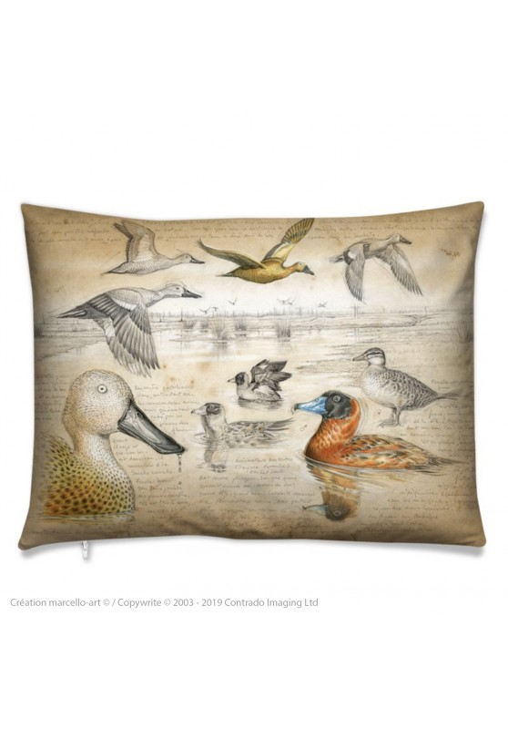 Marcello-art: Fashion accessory Cushion 235 Masked Duck