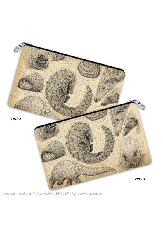 Marcello-art: Decoration accessoiries Pencil case 276 Pangolin