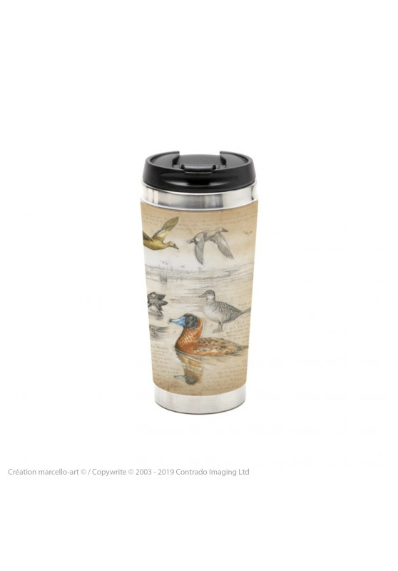 Marcello-art: Decoration accessoiries Thermos mug 235 Masked Duck
