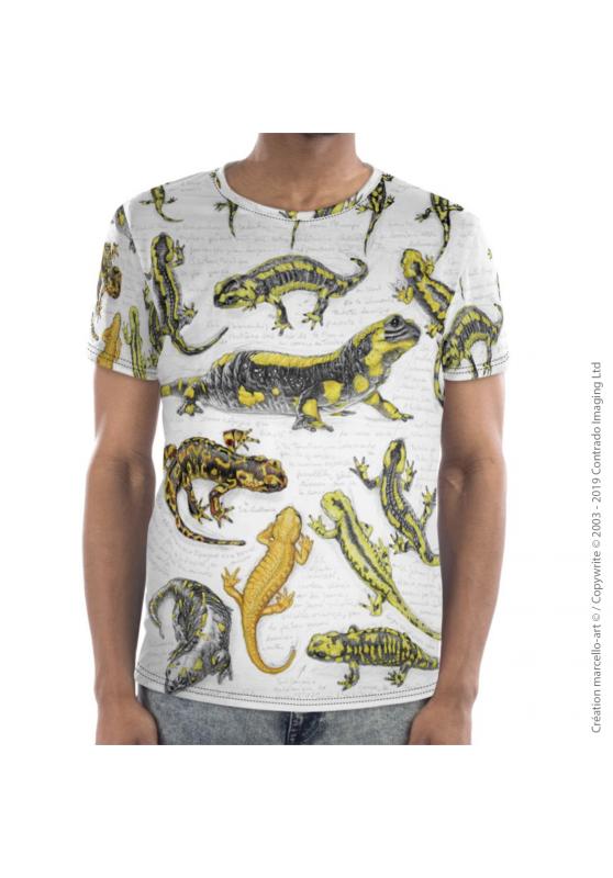 Marcello-art : T-shirt manches courtes T-Shirt manches courtes 383 salamandres