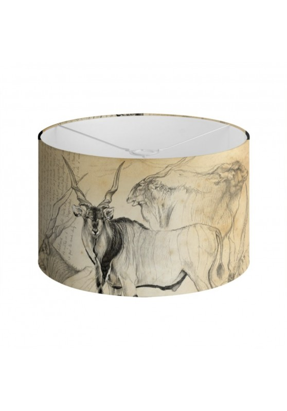 Marcello-art: Decoration accessoiries Lampshade 02 Giant eland