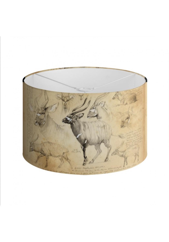 Marcello-art: Decoration accessoiries Lampshade 03 Bongo / Kaga-hélé
