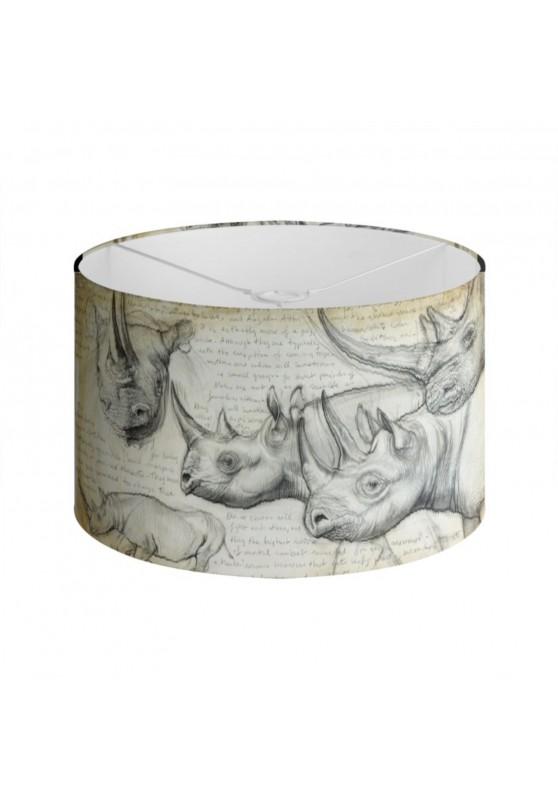Marcello-art : Accessoires de décoration Abat-jour 176 Rhinocéros noir