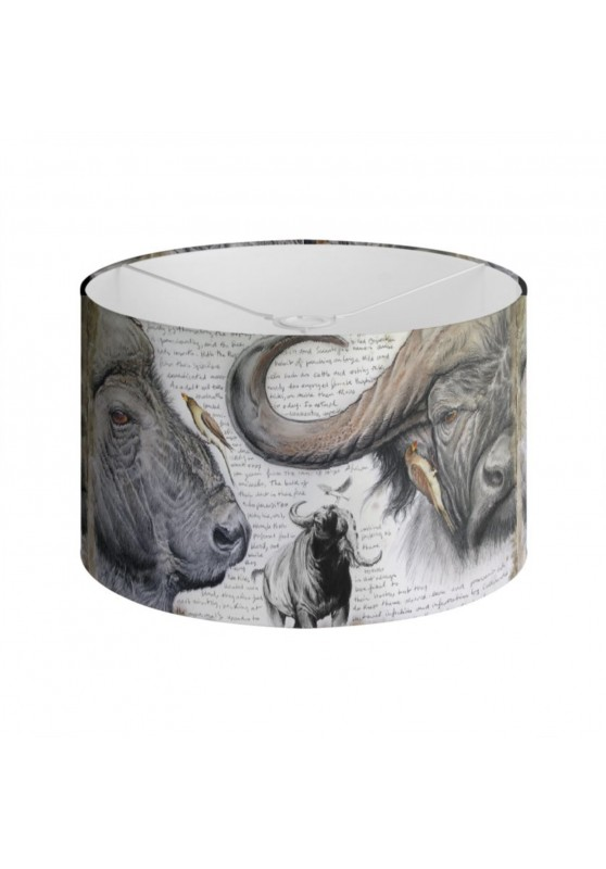 Marcello-art: Decoration accessoiries Lampshade 227 Red-billed Oxpecker
