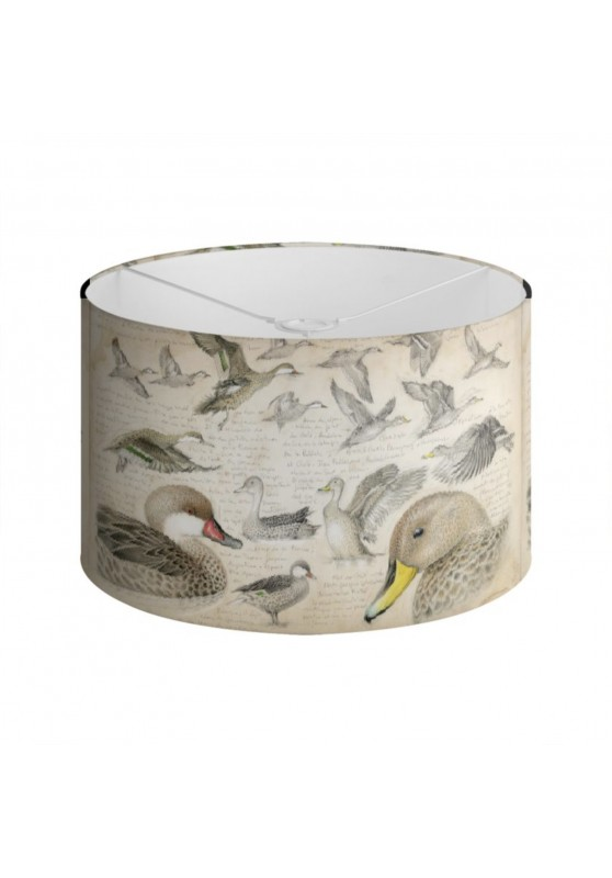 Marcello-art: Decoration accessoiries Lampshade 234 White-cheeked pintail & Yellow-billed Pintail