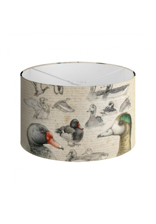 Marcello-art: Decoration accessoiries Lampshade 236 Chiloé Wigeon & Rosy-billed Pochard