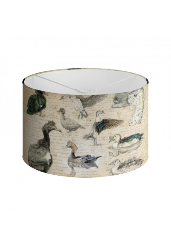 Marcello-art: Decoration accessoiries Lampshade 238 Muscovy Duck & Knob-billed Duck
