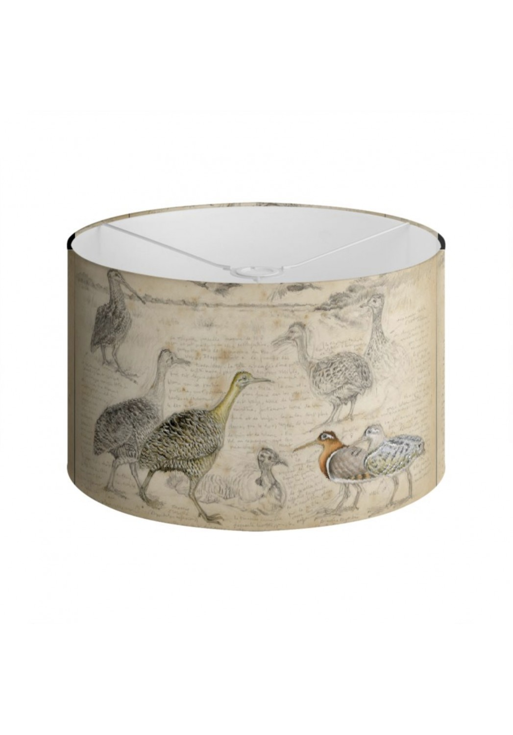 Marcello-art: Decoration accessoiries Lampshade 240 Tinamou & Snipe