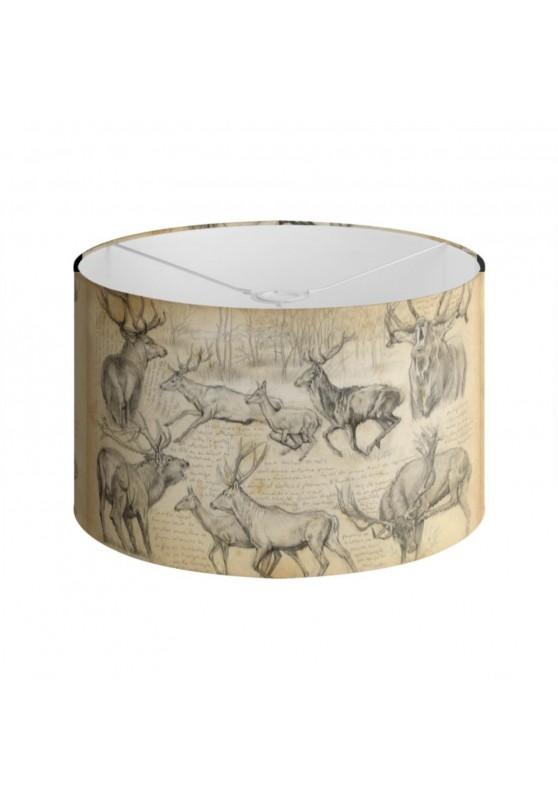 Marcello-art : Accessoires de décoration Abat-jour 271 Cerf elaphe