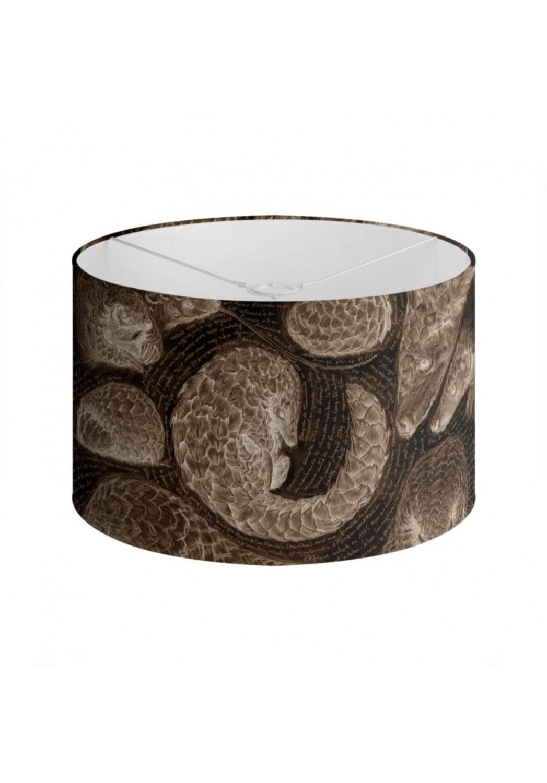 Marcello-art: Decoration accessoiries Lampshade 276 Pangolin sepia