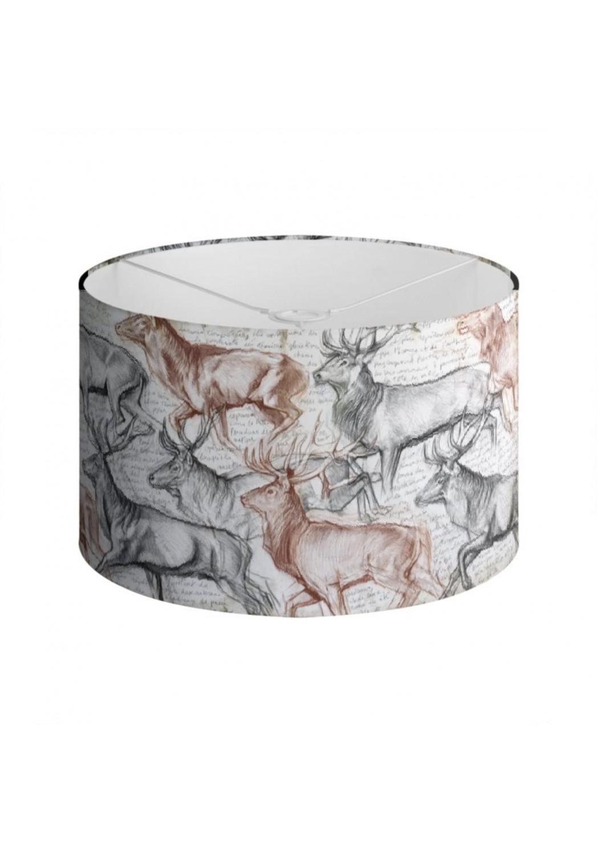Marcello-art: Decoration accessoiries Lampshade 297 The last herd