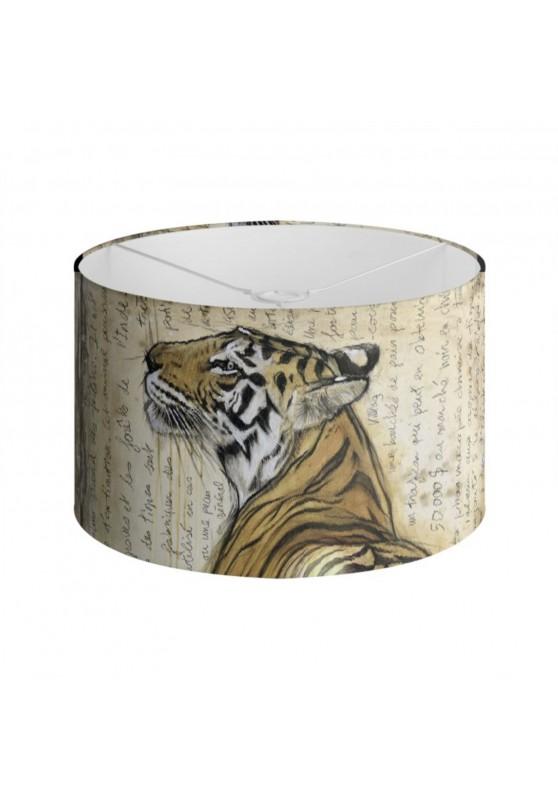 Marcello-art : Accessoires de décoration Abat-jour 298 Tigre du Bengale