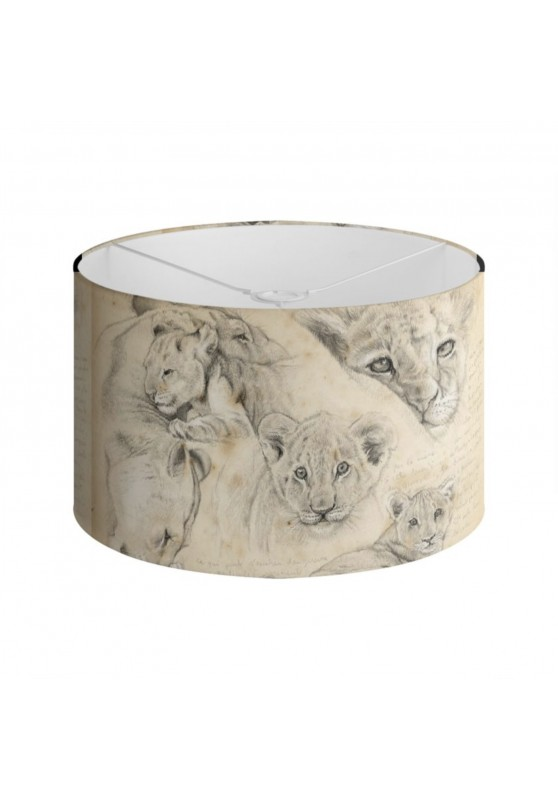 Marcello-art: Decoration accessoiries Lampshade 330 Lion cubs