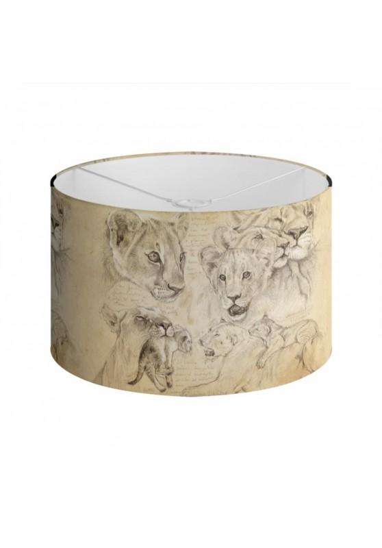 Marcello-art : Accessoires de décoration Abat-jour 335 Lionceaux