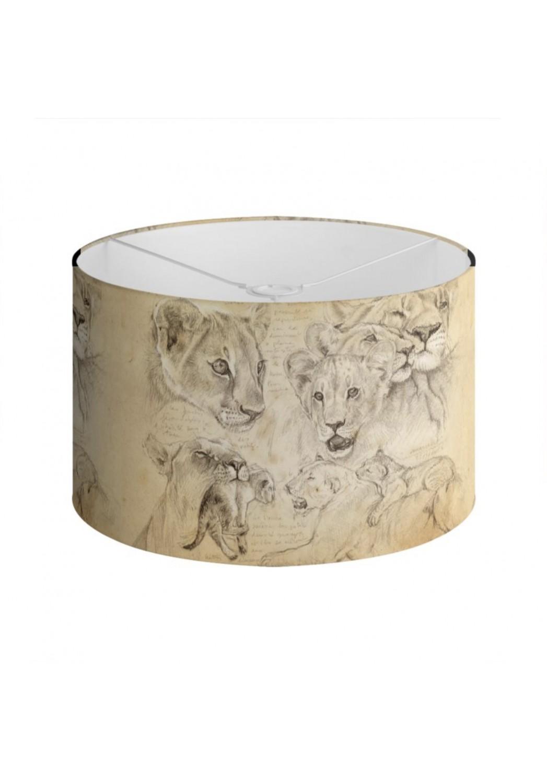 Marcello-art: Decoration accessoiries Lampshade 335 Lion cubs