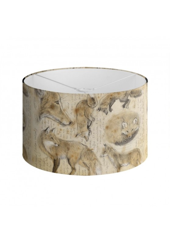 Marcello-art: Decoration accessoiries Lampshade 336 Red fox