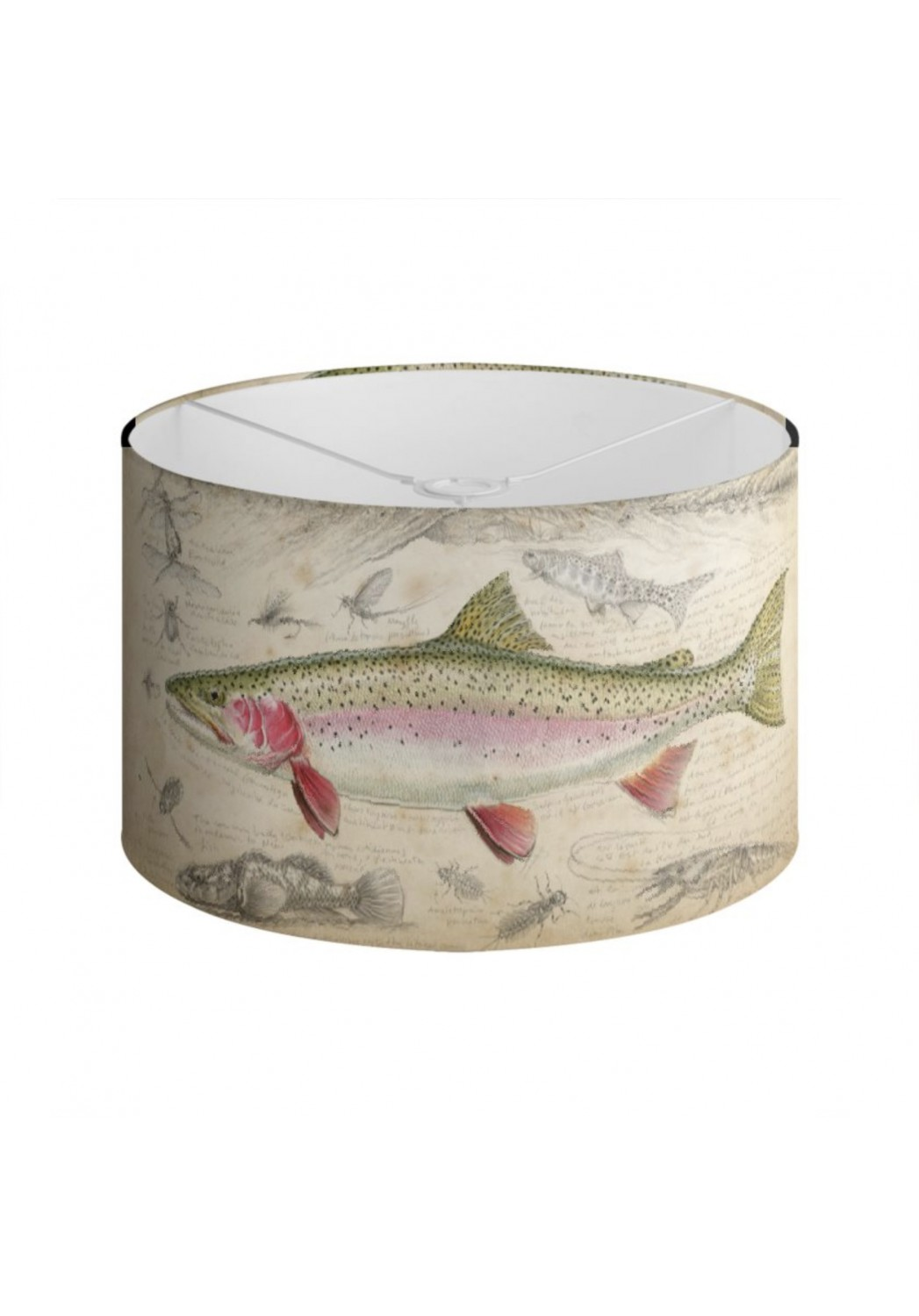 Marcello-art: Decoration accessoiries Lampshade 373 New Zealand rainbow trout