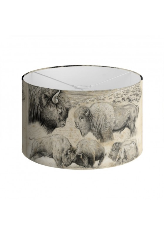 Marcello-art: Decoration accessoiries Lampshade 390 American buffalo