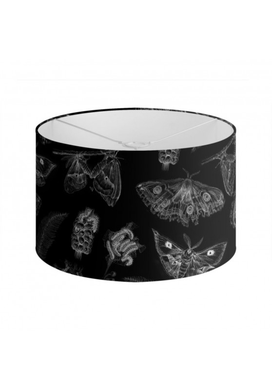Marcello-art: Decoration accessoiries Lampshade 402 Black Saturnia pavonia
