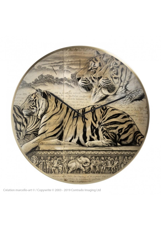 Marcello-art : Accessoires de décoration Horloge murale 304 Kamasutra