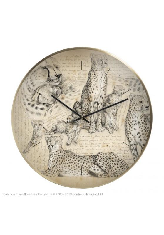 Marcello-art : Accessoires de décoration Horloge murale 338 Malaika