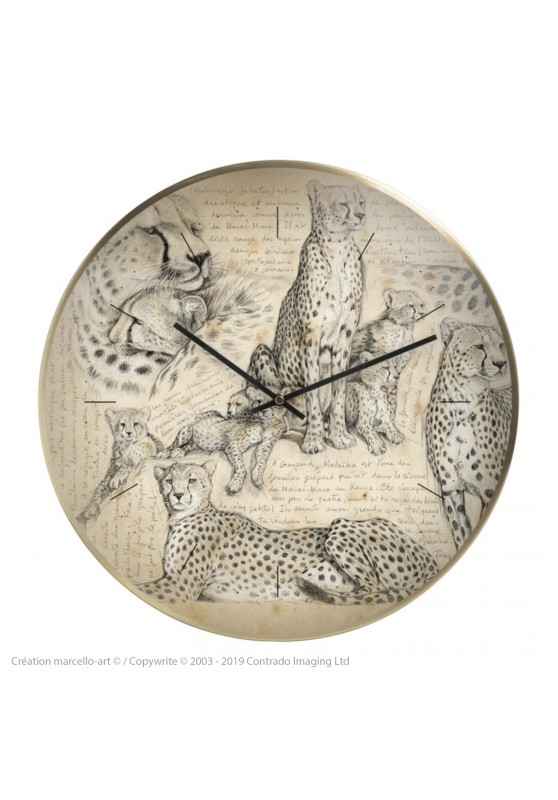 Marcello-art: Decoration accessoiries Wall clock 338 Malaika