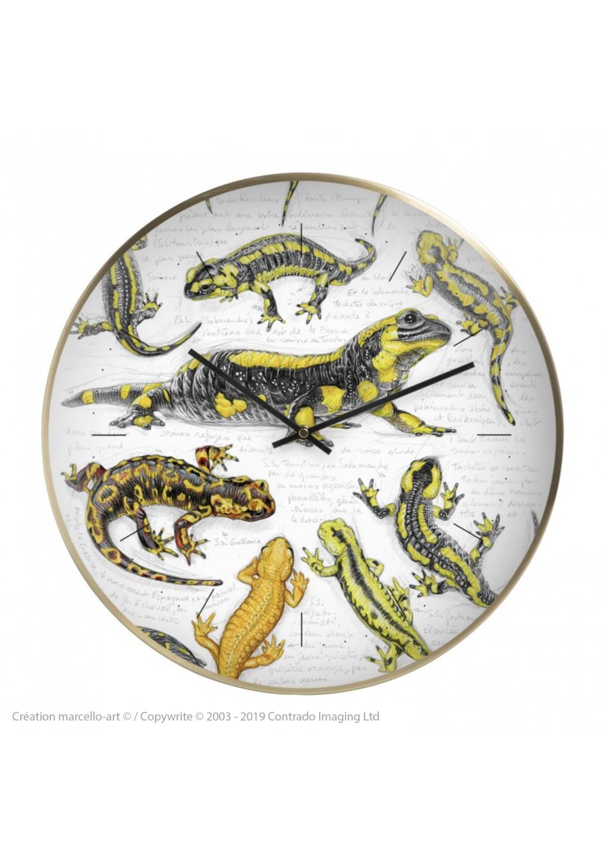 Marcello-art: Decoration accessoiries Wall clock 383 Salamander