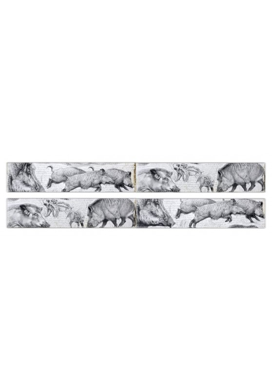 Marcello-art: Fleece scarf Fleece scarf 347 Sus scrofa