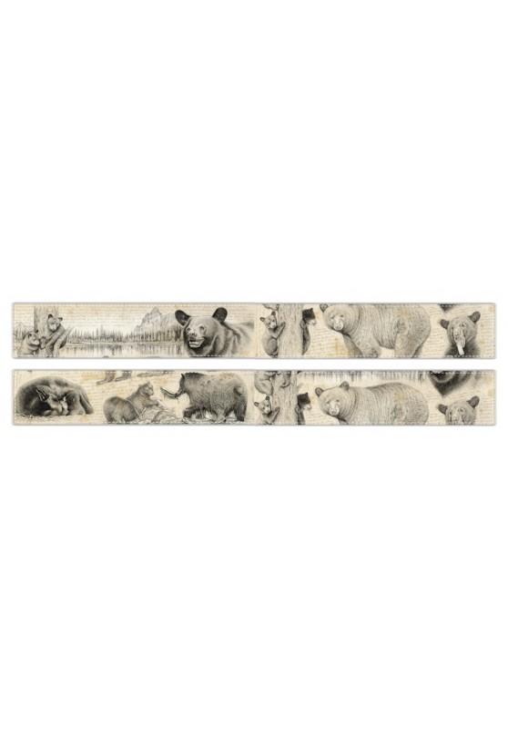 Marcello-art : Écharpe polaire Écharpe polaire 382 Ours noir