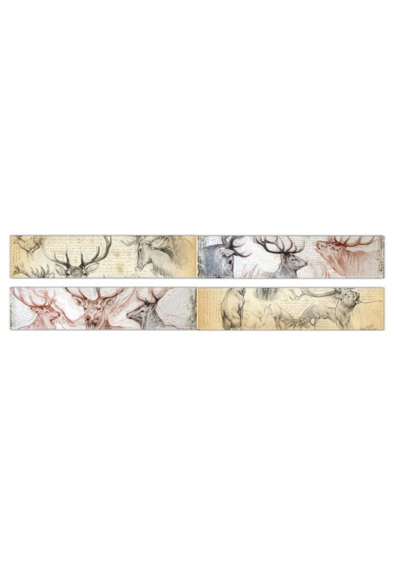Marcello-art : Écharpe polaire Écharpe polaire 52 - 278 Cerf elaphe